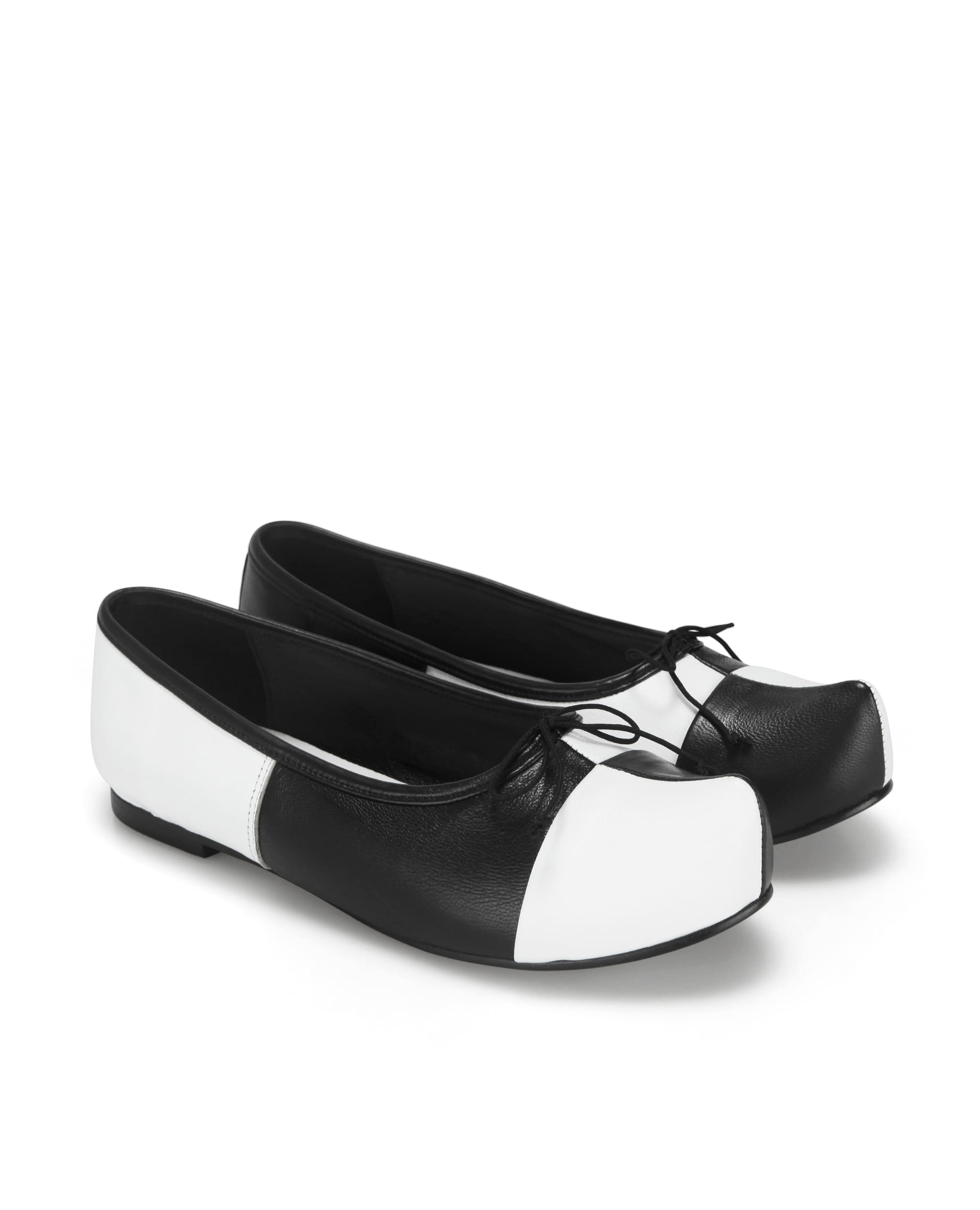 Pointed Toe Ballerina Flats | Checkerboard